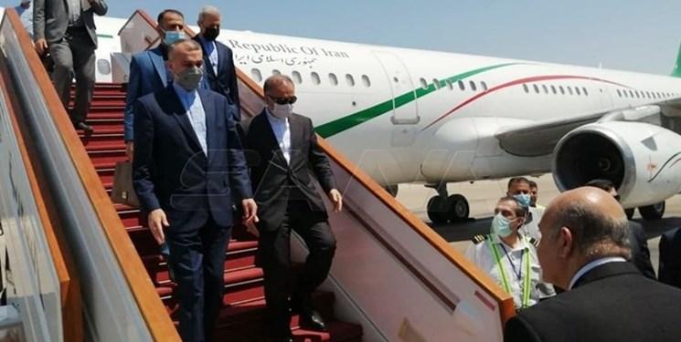 وزیر امور خارجه ایران وارد دمشق شد + ویدئو