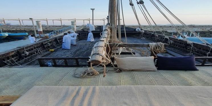 """Velas """"Bomboo"""" desplegadas en el Golfo Pérsico / Una imagen del coraje de los marineros iraníes en el último siglo"""