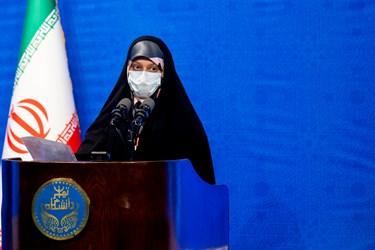 سخنرانی نماینده دانشجویان در مراسم آغاز سال تحصیلی 1401-1400 دانشگاهها و مراکز پژوهشی و فناوری کشور - دانشگاه تهران