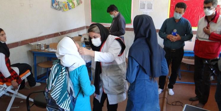 بهرهمندی مردم روستاهای دیواندره از خدمات رایگان کاروان سلامت