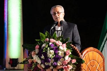 سخنرانی صابر سهرابی مدیر کل فرهنگ و ارشاد فارس در مراسم بزرگداشت یادروز حافظ شیرازی