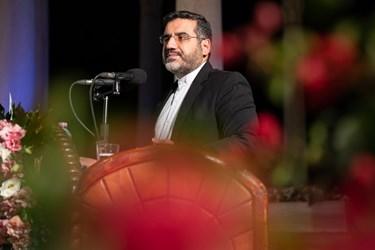سخنرانی محمد مهدی اسماعیلی وزیر فرهنگ و ارشاد اسلامی در مراسم بزرگداشت یادروز حافظ شیرازی