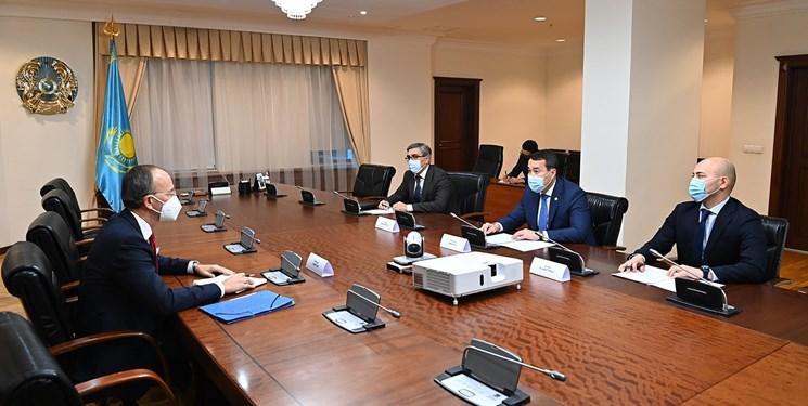 تقویت روابط محور دیدار مقامات قزاق و سازمان همکاری و توسعه اقتصادی