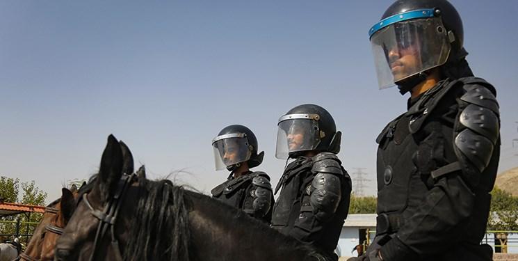 با پلیس ایثارگر؛ از تجدید میثاق و غبارروبی مزار شهدا تا رژه اسب سواران یگان ویژه در شهرری