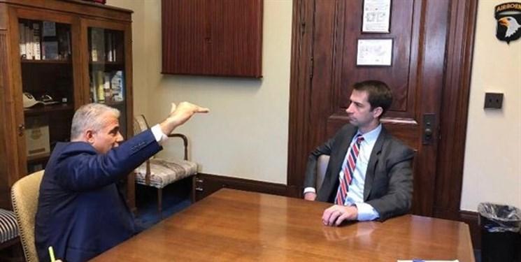 رایزنی نفر دوم تلآویو با سناتور ضد ایرانی در واشنگتن +عکس