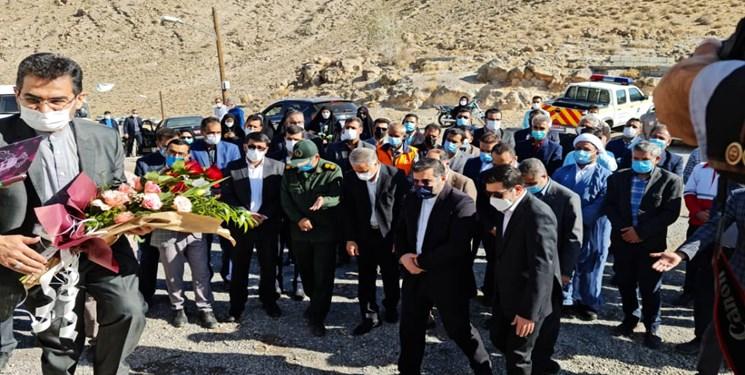 بازدید نماینده رئیس جمهور از پروژه های شهرستان پاسارگاد