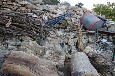 یه هفته بعداز زلزله کوهرنگ