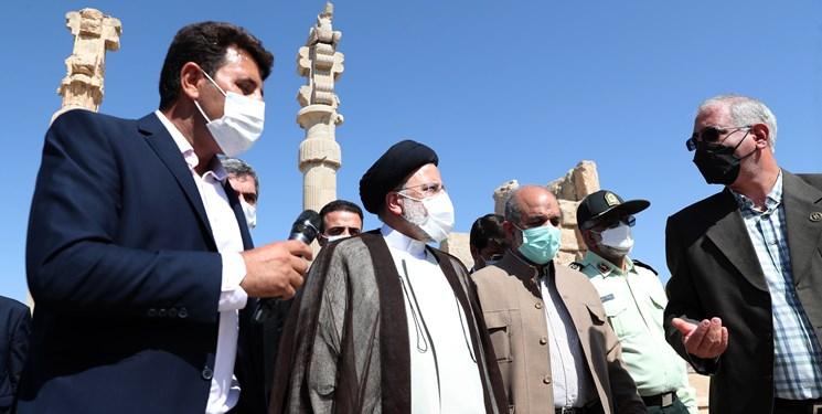 رئیسی: بناهای تاریخی نظیر تخت جمشید نشان از هنر والای ایرانیان است