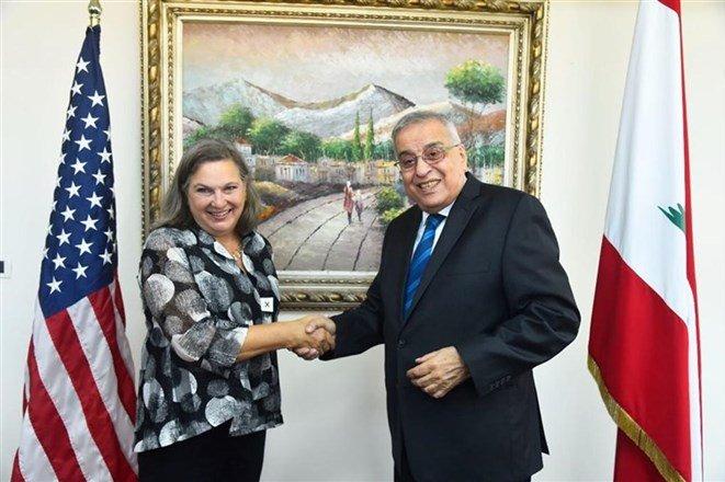 لبنان،ديدار،آمريكا،خارجه،وزير،گزارش،بيروت