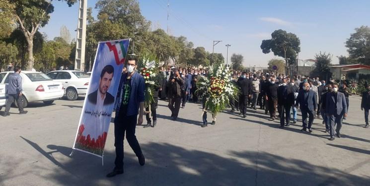 پیکر پیشکسوت رسانه استان مرکزی تشییع شد