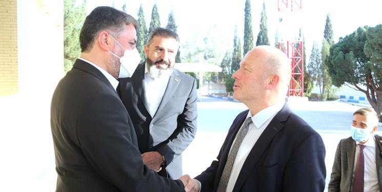 رئیس مجلس ملی سوئیس وارد یزد شد+ عکس
