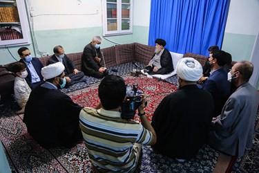 دیدار سید حمید سجادی وزیر ورزش و جوانان با آیت الله علوی گرگانی