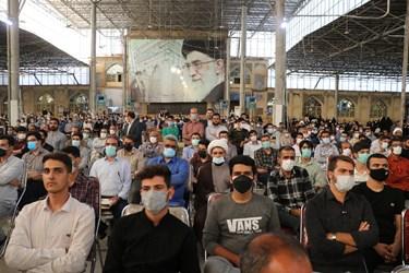 سخنرانی رئیس جمهوری در مصلای مسجد جامع شهدای شیراز