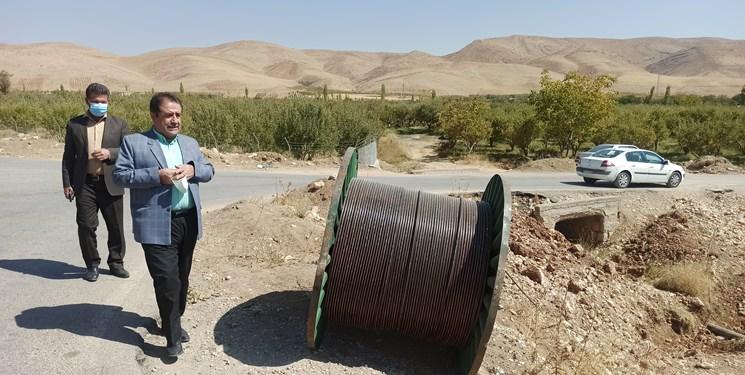 خبر خوب| کاکان از بنبست ارتباطی خارج میشود/خط دهی عالی موبایل و اینترنت در قطب باغداری استان+فیلم