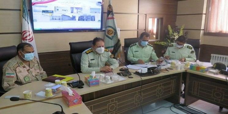 افتتاح پروژههای عمرانی و مهندسی فرماندهی انتظامی سیستان و بلوچستان