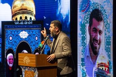 شعر خوانی احمد بابایی در ششمین سالگرد شهادت سردار شهید حسین همدانی