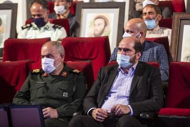 محسن منصوری استاندار تهران در ششمین سالگرد شهادت سردار شهید حسین همدانی
