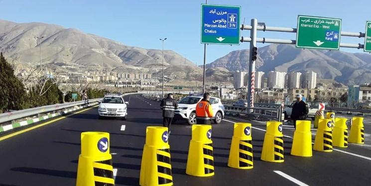 انسداد آزادراه تهران - شمال تا 28 مهر / ترافیک سنگین در جاده چالوس