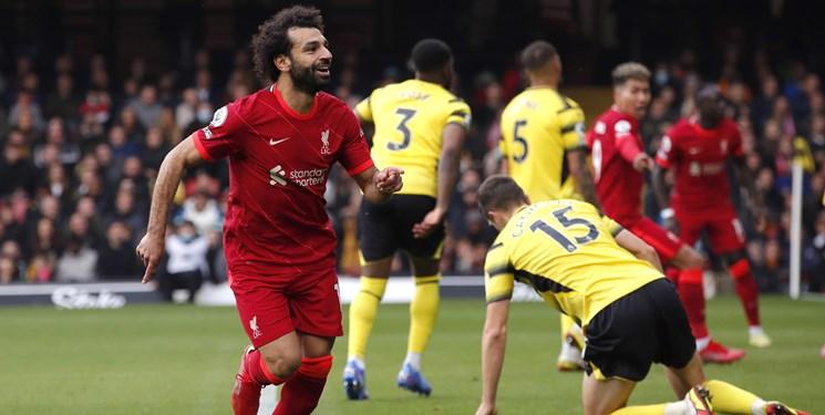 لیگ برتر انگلیس   آتش بازی لیورپول در دیدار مقابل واتفورد / هت تریک فیرمینیو