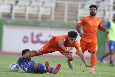 گزارش تصویری از مصاف تیم های سایپا و استقلال خوزستان در هفته اول لیگ دسته اول فوتبال