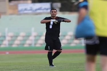 گزارش تصویری از مصاف خیبر خرم آباد و شهرداری آستارا در لیگ دسته اول فوتبال