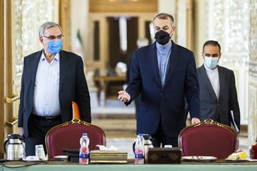 نشست مشترک وزرای     امور خارجه، گردشگری و بهداشت
