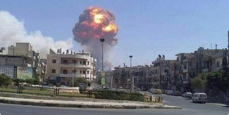 انفجار در انبار مهمات ارتش سوریه در «حماه»