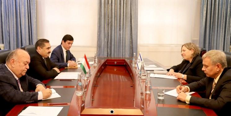 تاجيكستان،ديدار،سفير،زمينه،دوجانبه،طرفين،صهيونيستي
