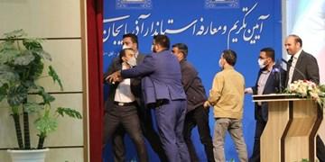 واکنش کاربران به سیلی خوردن استاندار آذربایجان شرقی