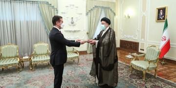 سفیر جدید جمهوری آذربایجان در ایران استوارنامه خود را تقدیم رئیسجمهور کرد