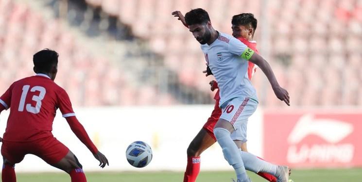 مسابقات قهرمانی زیر 23 سال آسیا  استارت تیم امید با برتری 4 گله مقابل نپال