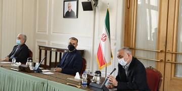 مراسم تکریم و معارفه طاهریان فرد و کاظمی قمی در وزارت امور خارجه +عکس