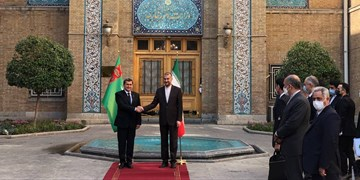 وزیر خارجه ترکمنستان با امیرعبداللهیان دیدار کرد +فیلم