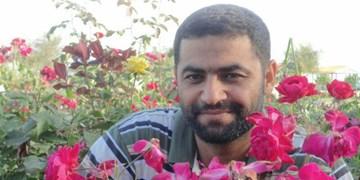 عزای سربازان سوری برای شهادت فرمانده ایرانیشان/ تکهای از تابوت که بشارت شهادت میداد