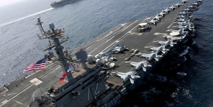 نشنال اینترست: مینهای ایران میتوانند ناوهای هواپیمابر آمریکا را غرق کنند