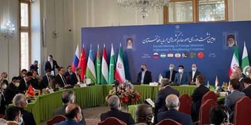 آغاز دومین نشست وزرای خارجه همسایه افغانستان به اضافه روسیه در تهران