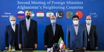 نشست وزرای خارجه همسایه افغانستان