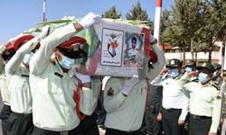استقبال از شهید مدافع امنیت در یاسوج