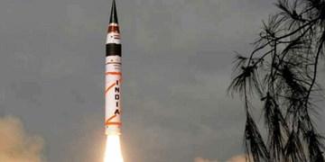 آزمایش موفق موشک اتمی قاره پیمای هند با برد 5 هزار کیلومتر