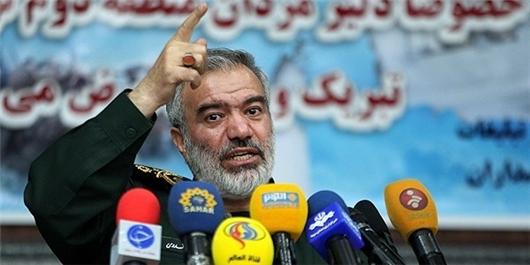 IRGC Commander Urges US to Admit Ein Al-Assad Casualties