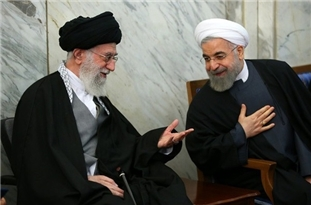 President Rouhani Congratulates Leader on New Year, Voices Hope for Uprooting Coronavirus
