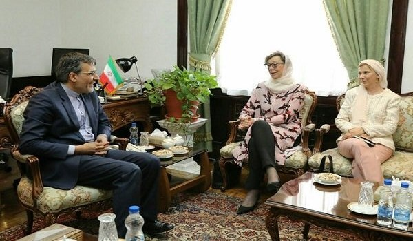 Iran, Sweden Stress Cooperation on Regional Affairs