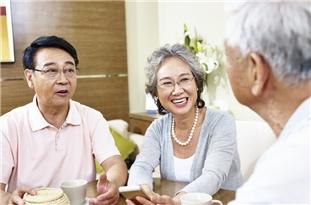 Happy Older People Live Longer