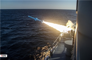 Iran Successfully Launches New Generation of Marine Cruise Missiles in Naval Drills