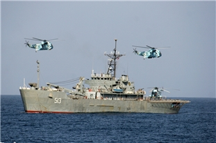 Deputy Commander: Iranian Warships in Int'l Waters to Ensure Security of Cargo Ships