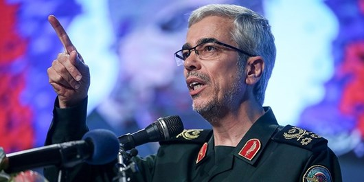 Chief Commander Warns of Crushing Response to Enemies' Miscalculation