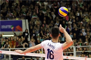Iran Edges S. Korea at AVC Volleyball Olympic Qualifier