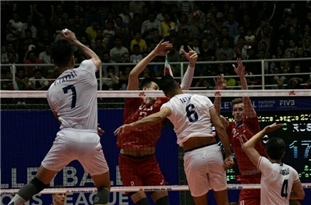 Iranian Volleyball Players Thrash Kazakhstan at Olympic Qualifiers