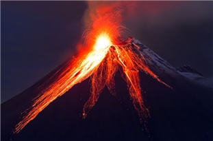 Volcanic Activity and Changes in Earth's Mantle Were Key to Rise of Atmospheric Oxygen
