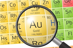World's Thinnest Gold Created